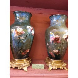 Pair Of Vase By Gien...