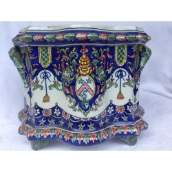 Cache Pot in faience of...